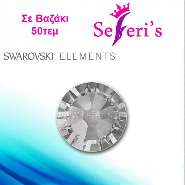 Swarovski SS3-SS5-SS6-SS8-SS10 (50τεμ) (2mm) No Hot Fix Crystals - BlackDiamond  Strass Swarovski για τα νύχια, διατηρούν τη λάμψη τους ακόμα και αφού περαστεί Top Coat σε μοναδικες τιμες