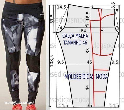 Moldes para hacer leggings para dama que podría ser mejor que un legging que se amolda a tu figura y te hace sentir la más bella del mundo. Con estos molde