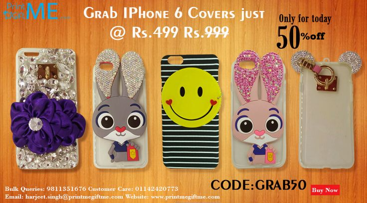 Deal Of The Day 50% Off For Unique Iphone Cover Grab It Now Only For Today. Grab Here http://printmegiftme.com/accessories/iphone-cover or call @ 9811351676, 01142420773