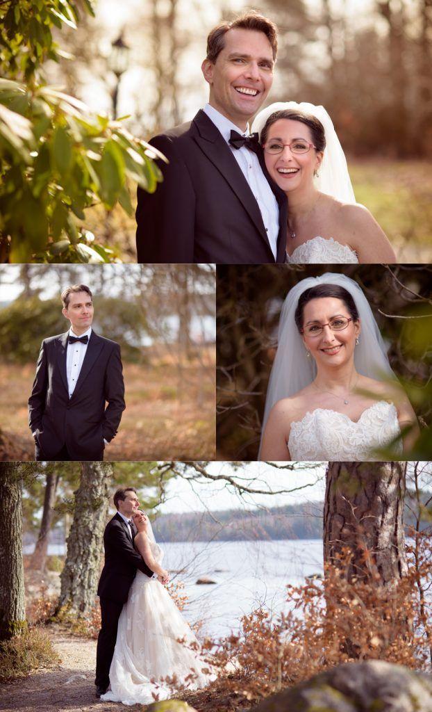 Weddingphotography. Wedding photography poses. Bride and groom photo posing. By Swedish photographer Maria Lindberg. Bröllopsfotografering av fotograf Maria Lindberg