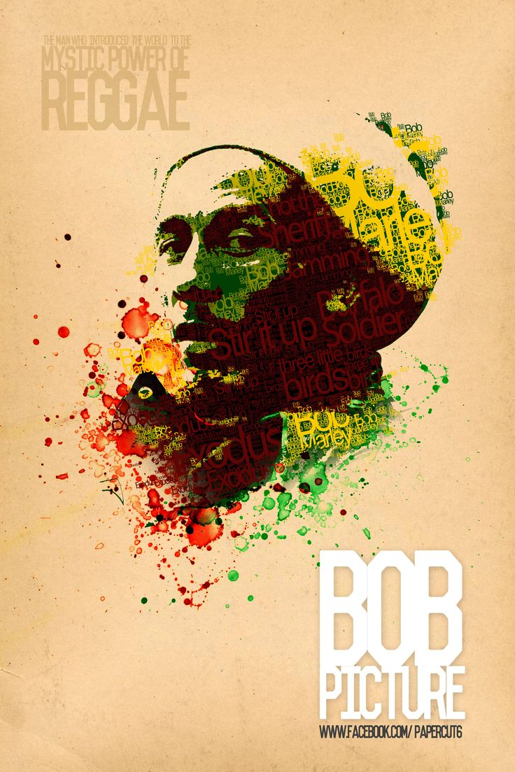 """The Honourable, Nesta Robert """"Bob"""" Marley, OM was a Jamaican singer-songwriter and musician best known for his Reggae records. -Wiki"""