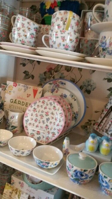 Inside Cath Kidston shop in St Ives, Cornwall
