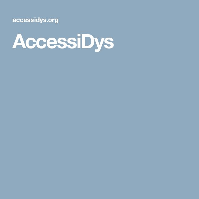 AccessiDys