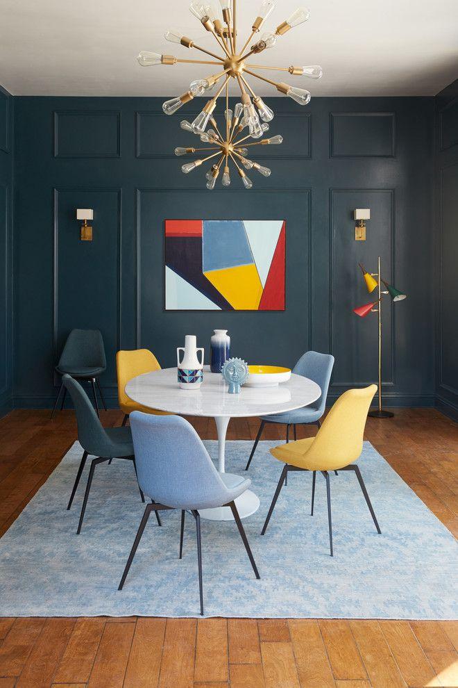 dark blue wood panel wall decorative pendant multicolored abstract rh pinterest com