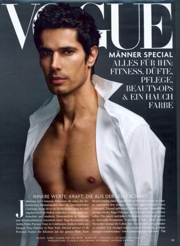 Famous Male Fashion Models | Cameron Alborzian: