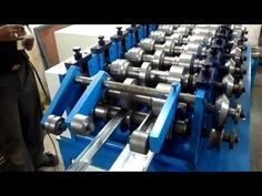 C To Z Purlin Roll Forming Machine - YouTube