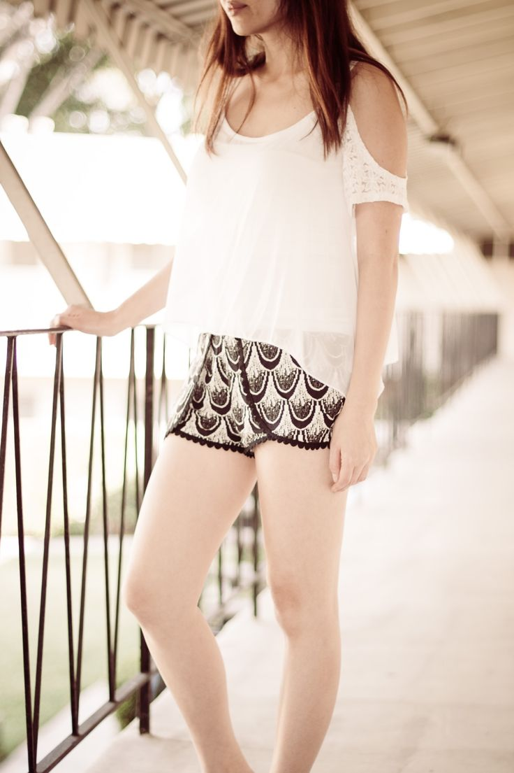 Perris Scales Woven Shorts