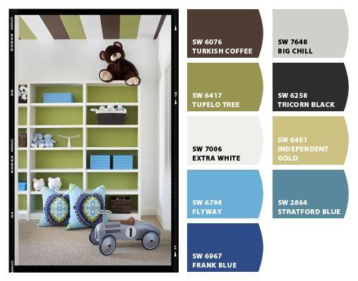 Cute kids room colors