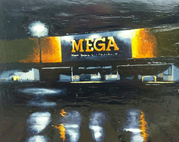 Mega, oil on Canvas, 2016