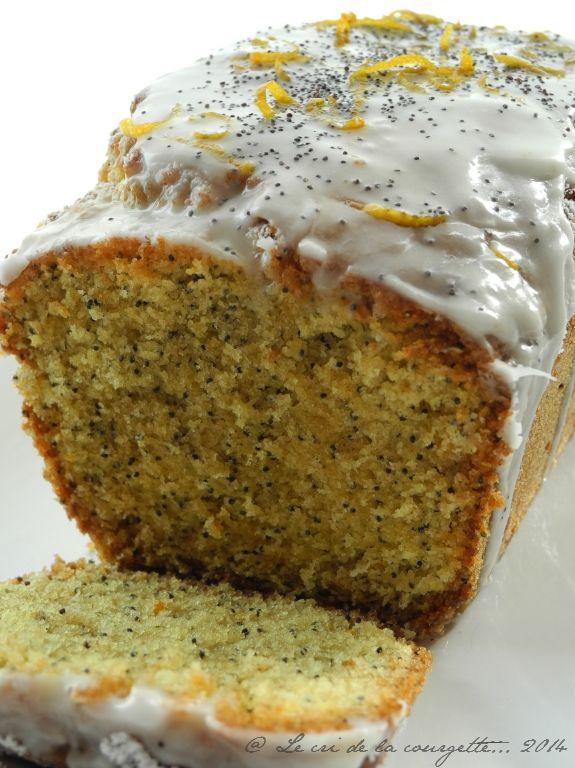 Cake à la bergamote et au pavot bleu | Blog de recettes bio : Le cri de la courgette...