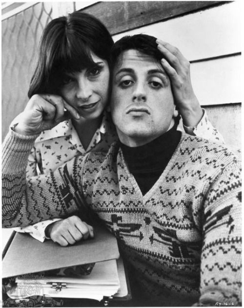 lottereinigerforever:  keyframedaily:  Talia Shire and Sylvester Stallone.    Happy 70th, Talia Shire.