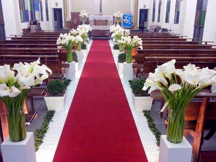 decoração igreja copo de leite - Pesquisa Google