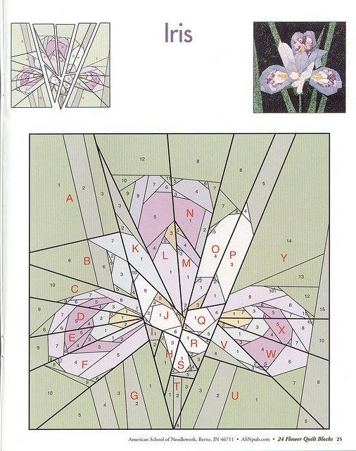 24 flower quilt blocks 25 | Flickr - Photo Sharing!