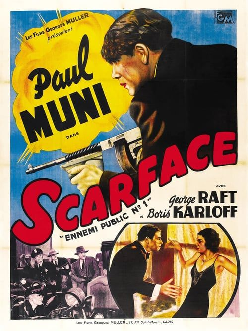 Watch Scarface (1932) Full Movie Online Free