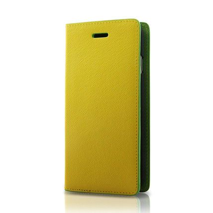 i-phone 6・6S用 バイカラー(黄×緑)