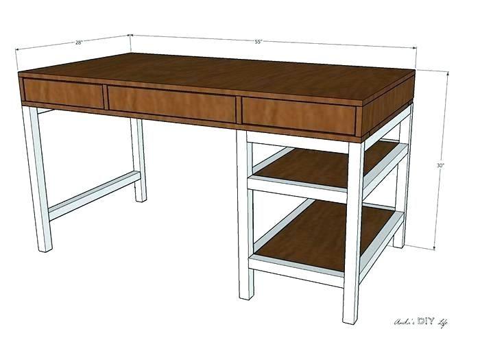 Charming Diy Corner Desk With Storage Pictures Idea Diy Corner