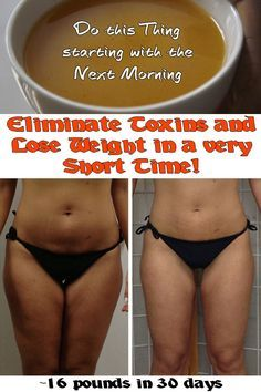 Eliminate Toxins and Lose Weight in a very Short Time