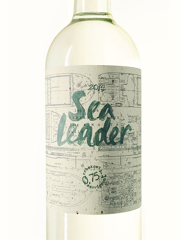 Marine wine – дизайн этикетки вина