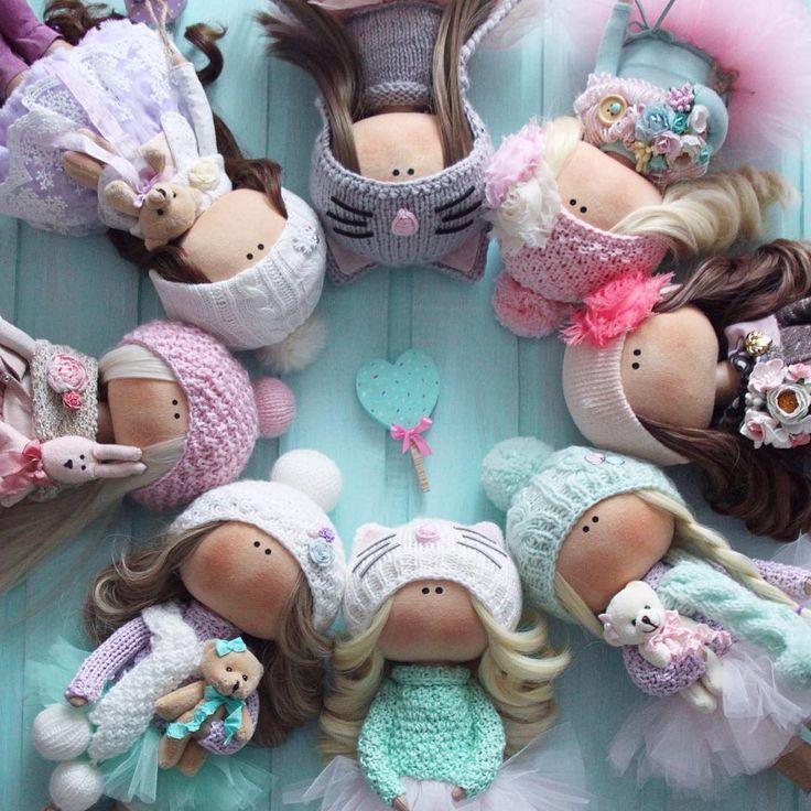 441 отметок «Нравится», 31 комментариев — Интерьерные куклы (@tati.dolls) в Instagram: « подарочки под ёлочку»