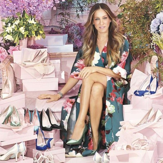 Sarah Jessica Parker Officially Adds Bridal Styles to Her Shoe Line from #InStyle