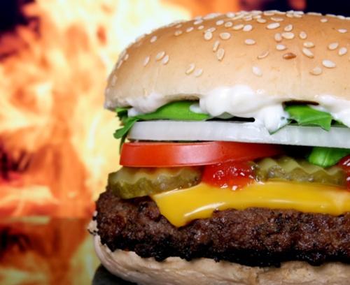 Illegal burger in Oslo city center (Møllergata 23), go for the good stuff when a craving comes