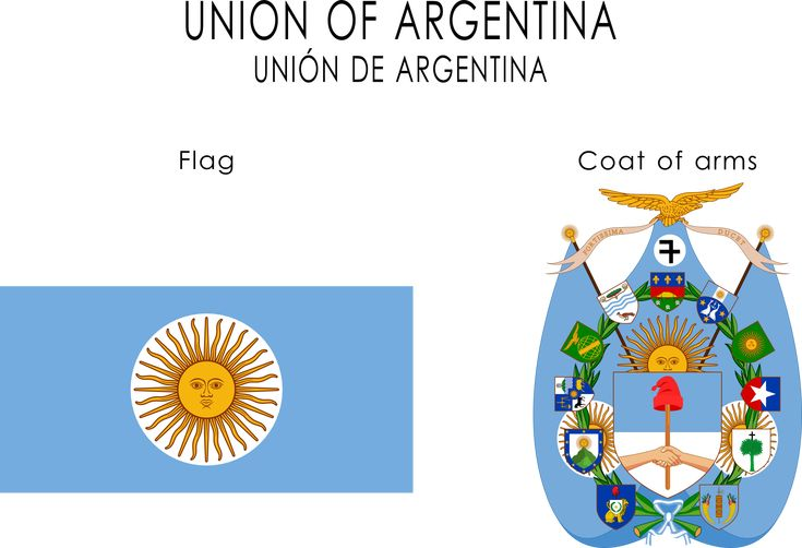 Union of Argentina arms and flag by SoaringAven.deviantart.com on @deviantART