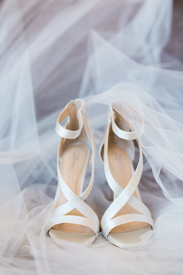 satin wedding shoes - photo by Casto Photo http://ruffledblog.com/modern-atlanta-wedding-at-american-spirit-works