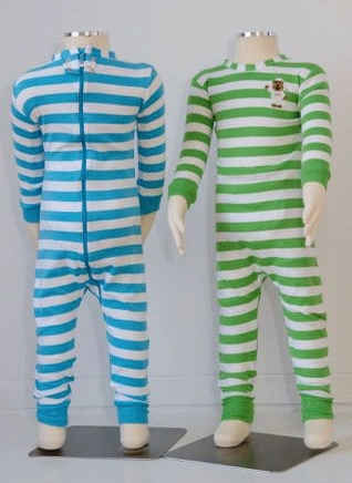 Little Keeper Sleeper: non-escapable pajamas