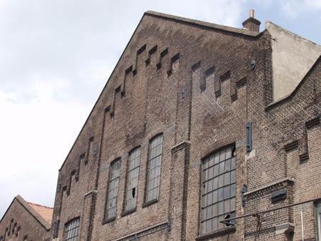industrial heritage, Werkspoorhallen, Amsterdam, the Netherlands