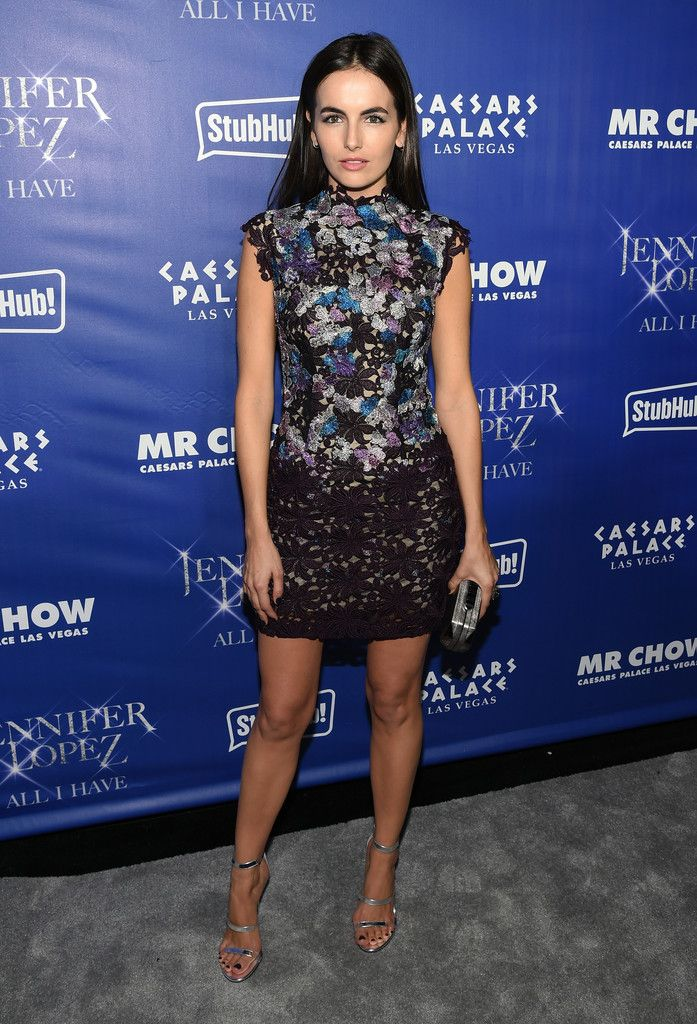 Fabulously Spotted: Camilla Belle Wearing Monique Lhullier - Grand Opening of Mr. Chow at Caesars Palace - http://www.becauseiamfabulous.com/2016/01/22/fabulously-spotted-camilla-belle-wearing-monique-lhullier/
