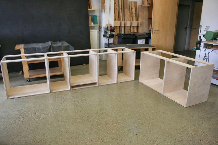 Dominik´s Holz Küche Teil Küche Selber Bauen In Küche Style - Innere Küchendesign