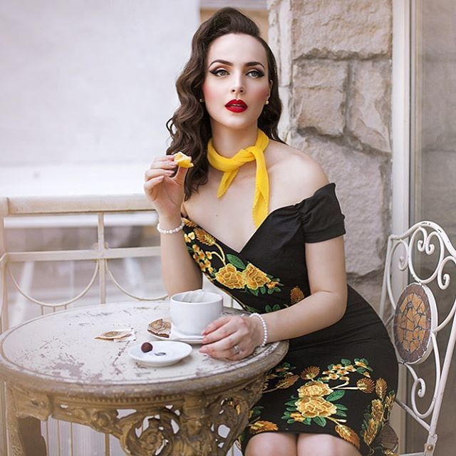 """Tea Time""  Lookbook for the new collection @theprettydress  Photo and retouch @nadjaberberovic  Location @4sgs"