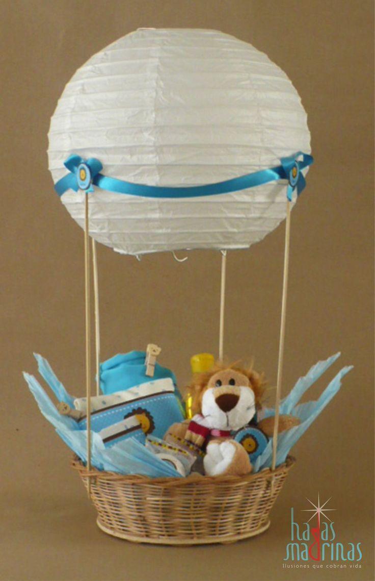 Canasta para con productos personalizados para la llegada de un nuevo bebe ideas baby shower - Ideas para bebes ...