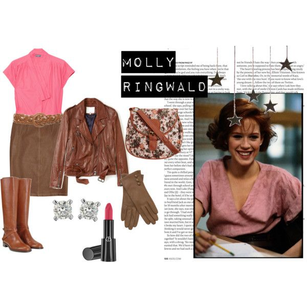 Molly Ringwald by sarahcar on Polyvore featuring polyvore, fashion, style, McQ by Alexander McQueen, 3.1 Phillip Lim, Bottega Veneta, Fratelli Rossetti, Dorothy Perkins, John Lewis and Giorgio Armani