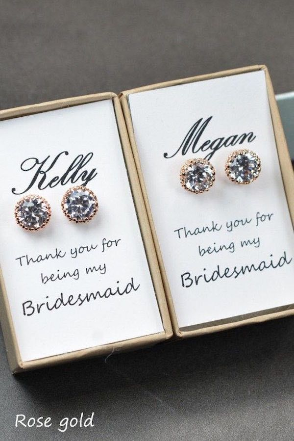 Adorable Bridesmaids Gifts For Your Girls - MODwedding
