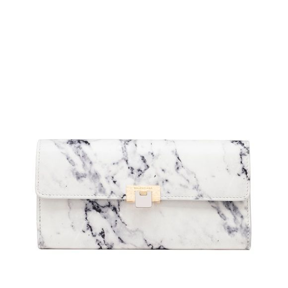 balenciaga authentic marble wallet - lightly used Balenciaga marble le dix wallet 100% calfskin SOLD OUT ONLINE . AMAZING SHOW STOPPING ACCESSORY TO HAVE. OR GIFT ;) Balenciaga Accessories