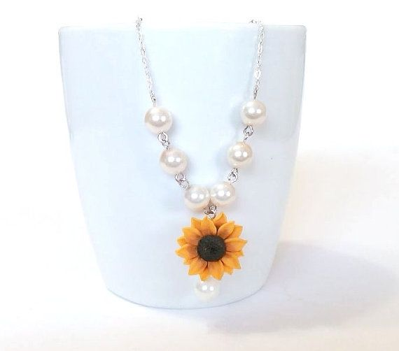 Hey, I found this really awesome Etsy listing at https://www.etsy.com/listing/246926513/sunflower-necklace-sunflower-jewelry