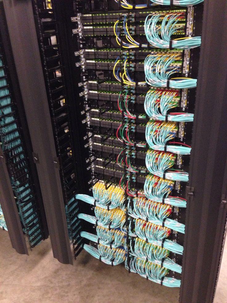 Holy cow Beautiful multimode fiber datacenter