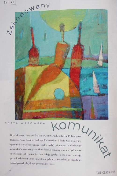 Top Class, tekst Katarzyna Newelska, obrazy Beata Wąsowska, Piotr Schmitke, Andrzej Urbanowicz, Grzegorz Bienias