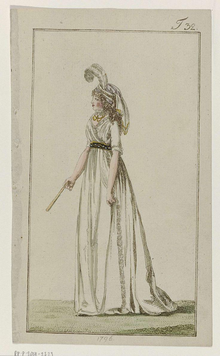 Journal des Luxus und der Moden, 1796, T 32, Georg Melchior Kraus, 1796