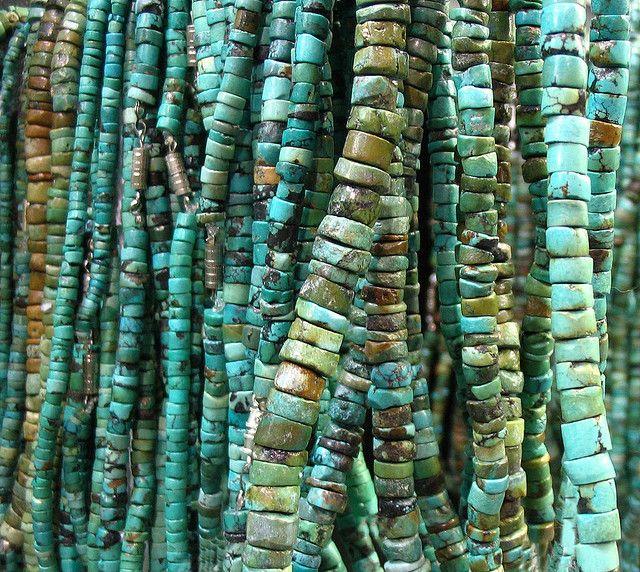 ❥ Turquoise beads