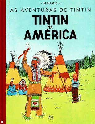 BD Portugal: Tintin na América