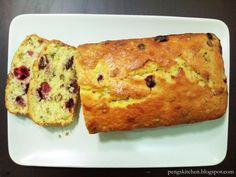 Cranberry & Orange Teabread Light & moist texture with tangy fragrant! Again this recipe requires no mixer, just a manual whisk...