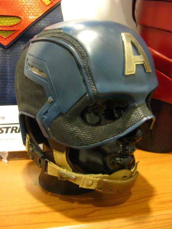 Etsy - Captain America Helmet Kit (Maybe to make a Daredevil mask & make Dark Red, or a reimagined more 'tactical minded' Red Hood)