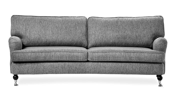 Produktbild - Hampton, 3-sits soffa svängd
