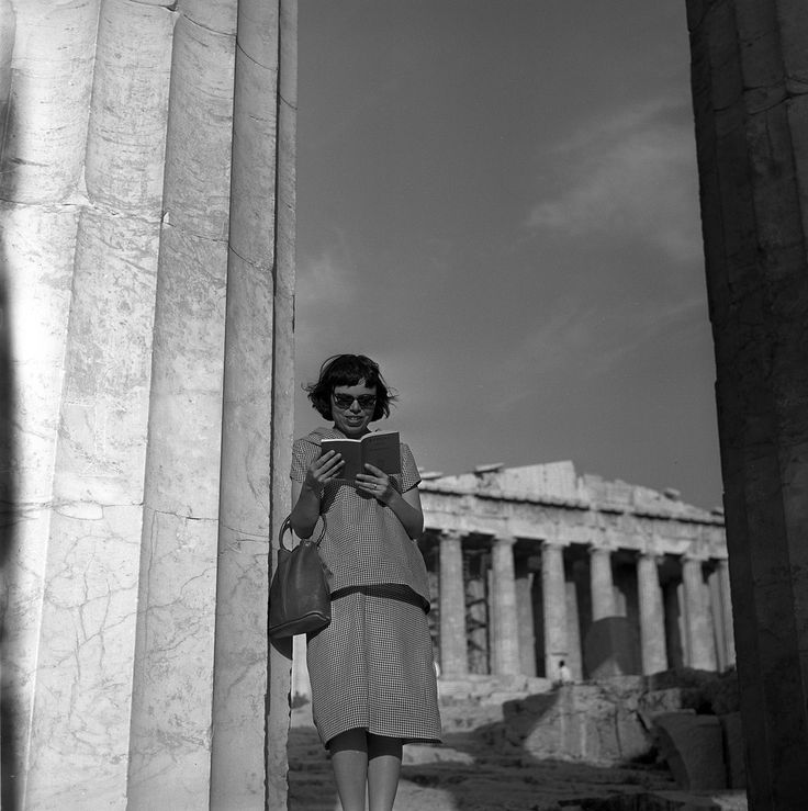 https://flic.kr/p/bj3n74 | 055759 04 | athens, greece may 1959  maggie at the acropolis  set includes photographs of the ancient ruins of the acropolis in athens, greece. from nick and maggie's spring 1959 trip to europe. from nick and maggie's spring 1959 trip to europe.  part of an archival project, featuring the photographs of nick dewolf
