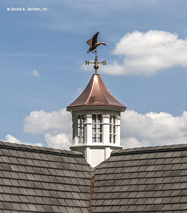 21 best cupolas weathervanes images on pinterest beach for Roof cupola plans