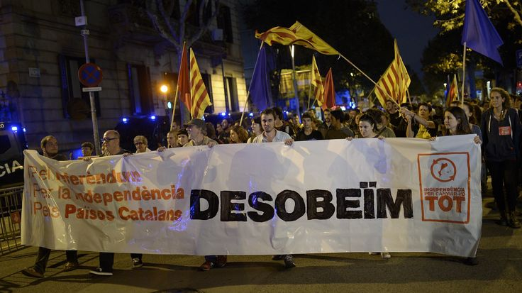 Spain's central government in Madrid had appealed to the court to stop the vote, which had been approved with strong support from Catalonia's parliament and local governments.