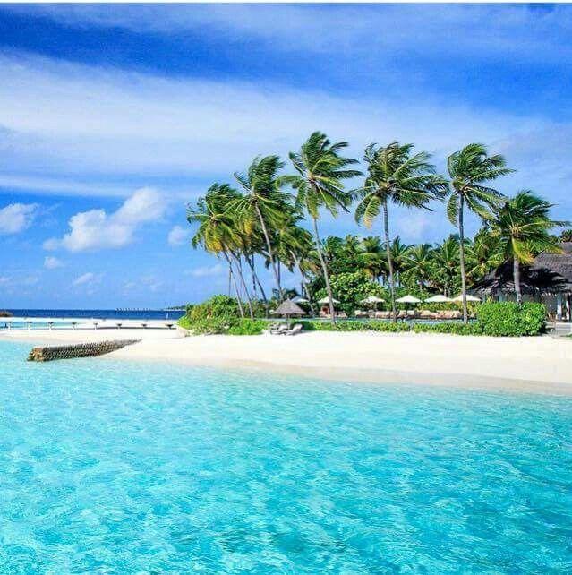 Peaceful Lovely Beautiful Ocean Sea Blue.