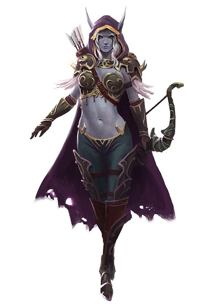 World of warcraft sylvanas cosplay